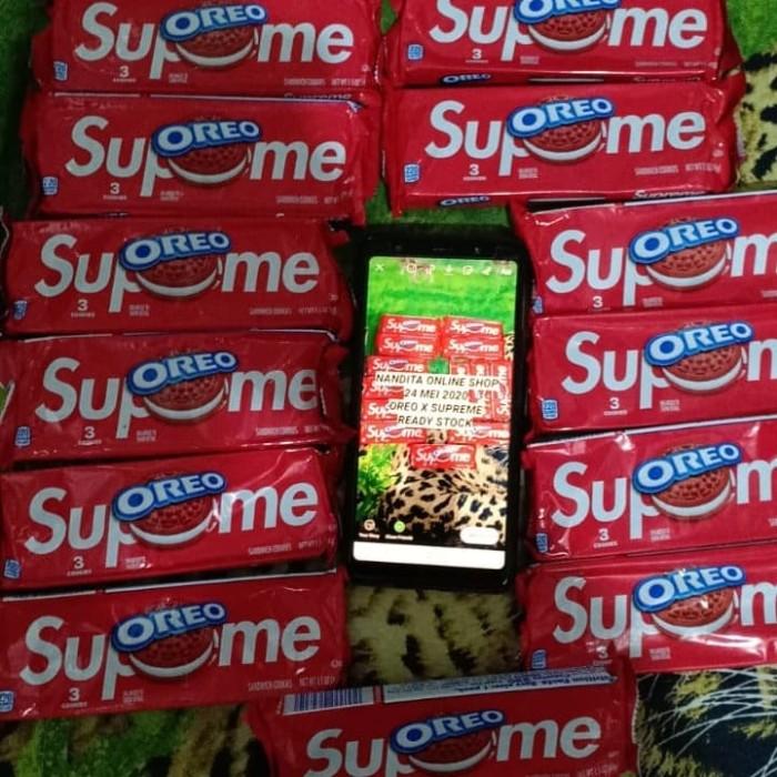 Foto Produk oreo supreme red velvet hype oreo supreme limited stock ready jakarta dari Nandita Online Shop
