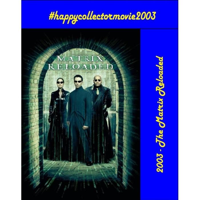 Jual Dvd The Matrix Reloaded 2003 Jakarta Selatan Happyc Shop Tokopedia