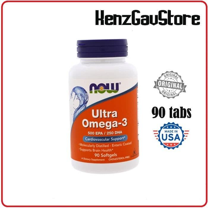 Foto Produk OMEGA 3 ULTRA NOW,500 EPA/250DHA dari KenzGavStore