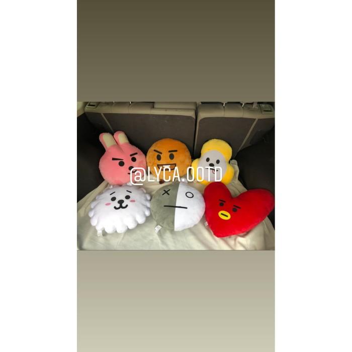 Foto Produk Boneka BTS TATA/ BTS COOKY PREMIUM QUALITY (SNI Label) - Merah dari Lyca OOTD