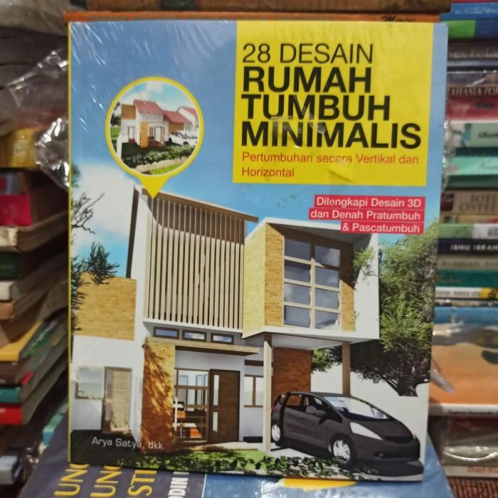 Jual Buku 28 Desain Rumah Tumbuh Minimalis Original Jakarta Selatan S 19 Store Tokopedia