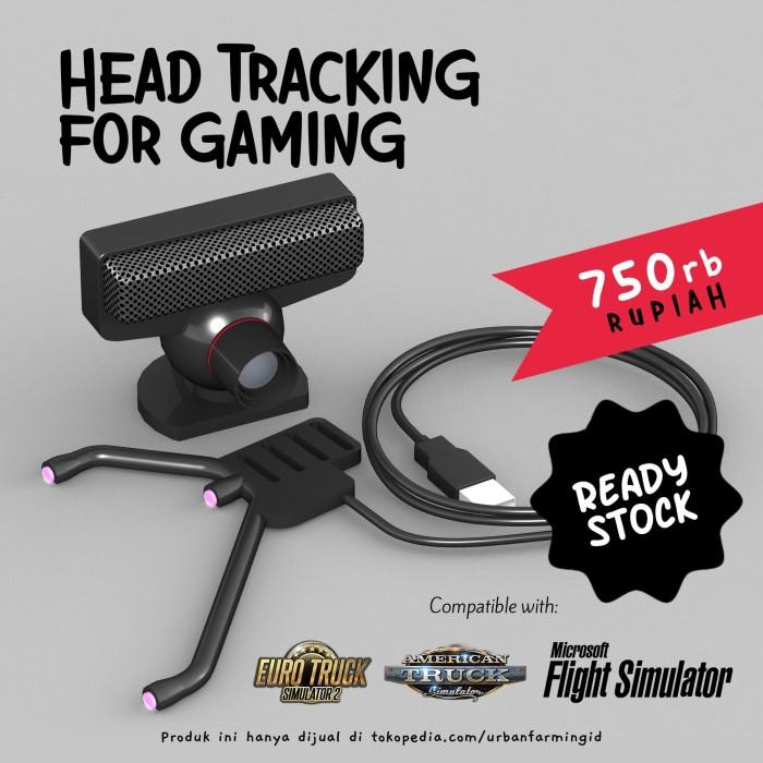 Foto Produk Head Tracking for Gaming Tracker / TrackIR / Infra Red / ETS2 / ATS dari UrbanFarming