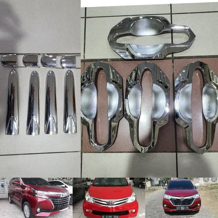 Foto Produk New Cover handle+outer chrome ALL NEW AVANZA/XENIA 2012-2020 dari Diamond Car Assesories