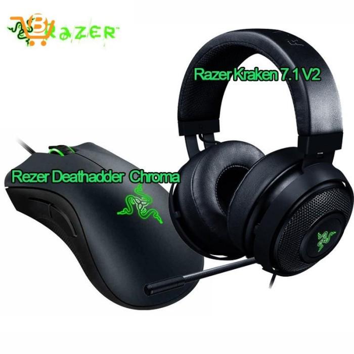 Foto Produk Razer Kraken Noise Isolating Gaming Headset with Mic and dari MahikStore