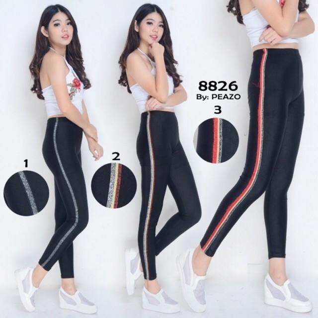 Jual Celana Legging Wanita Glitter Panjang Premium Terbaru Jakarta Barat Global Factory Tokopedia