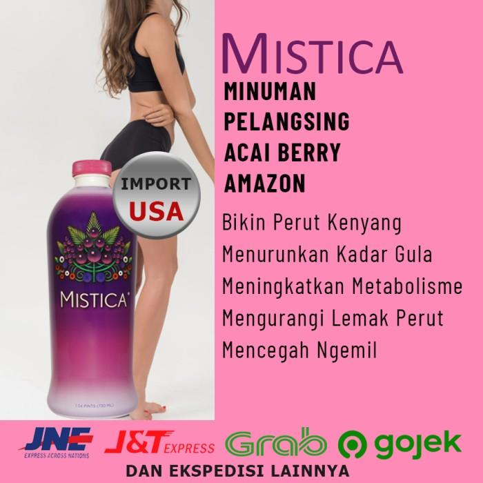Jual Mistica Makanan Pembakar Lemak Ramuan Pengecil Perut Buncit Jakarta Timur Triplershop Tokopedia