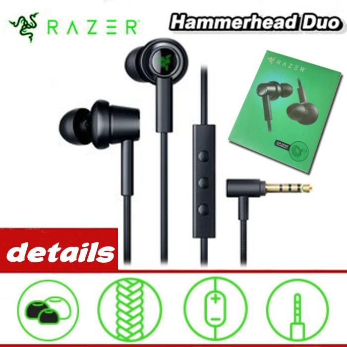 Foto Produk Razer Hammerhead Duo Earphone Handsfree In-Ear dengan Mic untuk PC / dari MahikStore