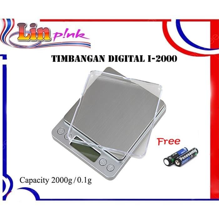 Foto Produk LP I-2000 Timbangan Digital Kopi / Timbangan Dapur Digital dari Lin-Pink Online Shop