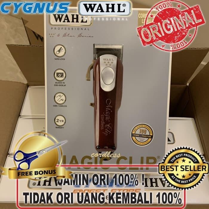 Foto Produk WAHL Cordless Magic Clip USA. clipper magicclip dari Cygnus Gadget Store
