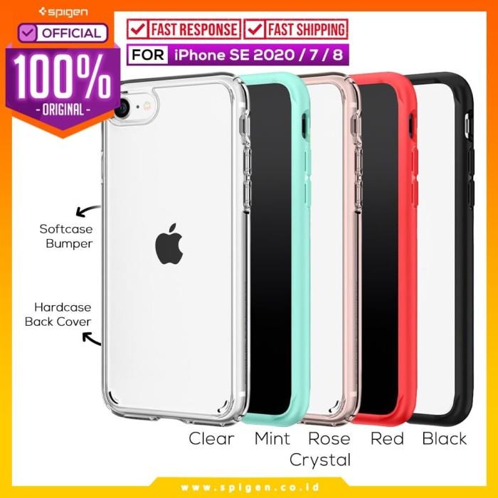 Foto Produk Case iPhone SE 2020 / 8 / 7 Spigen Ultra Hybrid 2 Anti Crack Casing - Mint dari Spigen Official