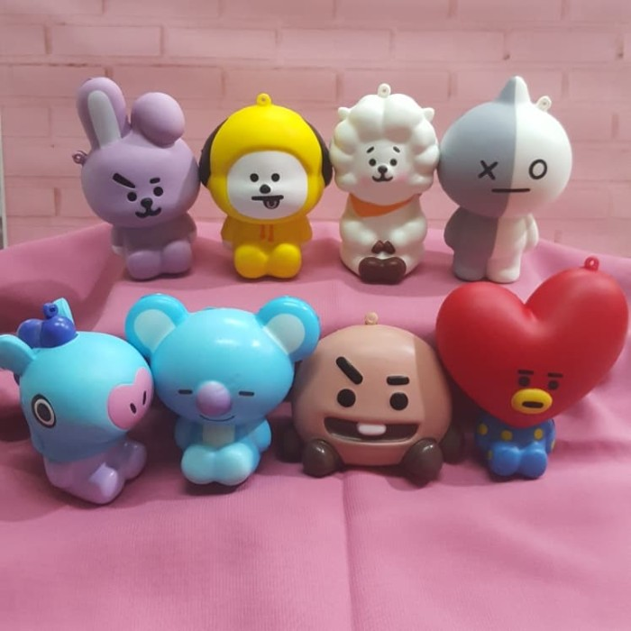 Foto Produk Squishy Murah Cute BT21 Character Series by VJ Squishy dari squishystar.ind