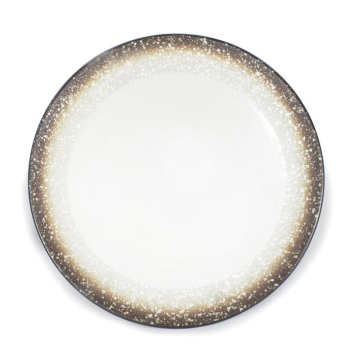 Foto Produk Artisan Ceramic   Rice Snow BB Plate   Piring Kecil Keramik dari Artisan Ceramic