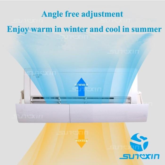 Foto Produk Talang AC Cassette AC Air Screen Cover-Talang Penahan Hembusan AnginAC dari SUNXIN