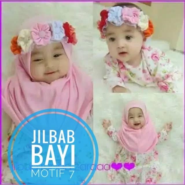 Foto Produk Jilbab Baby Mahkota bunga dari kedai pepe