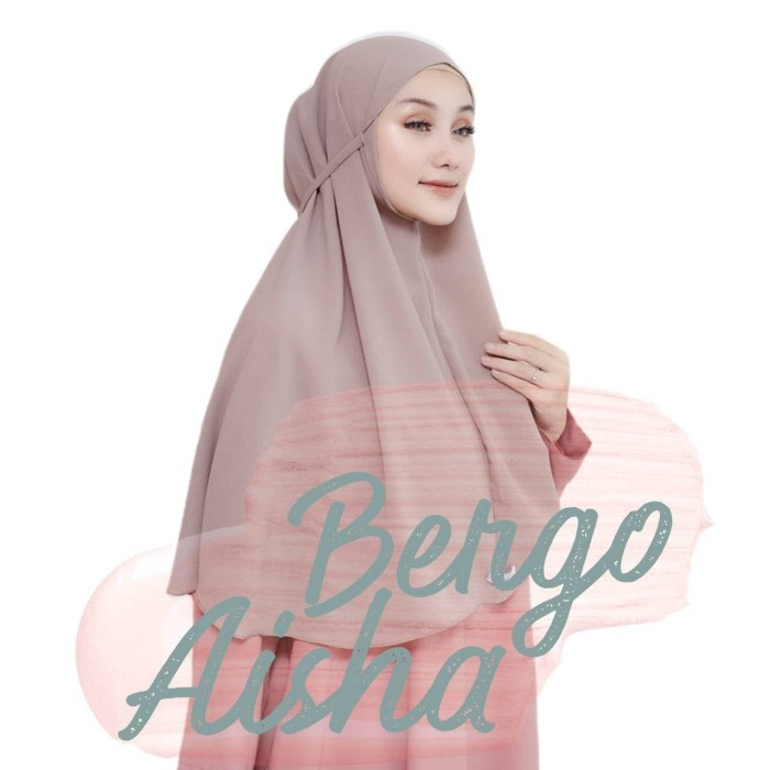 Jual Kerudung Bergo Aisha Jakarta Barat Dhiya Shabby Tokopedia