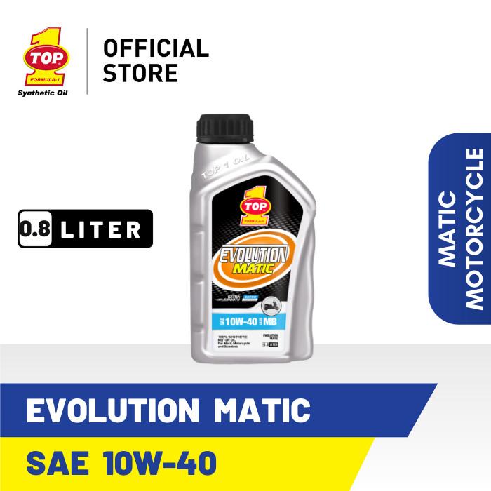 Foto Produk Oli Motor Matik TOP 1 EVOLUTION MATIC 10W-40   800cc dari TOP1 Store