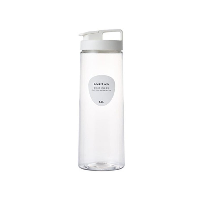 Foto Produk Lock & Lock Easy Grip Water Bottle 1.5L White HAP814WHT dari LOCK&LOCK Official
