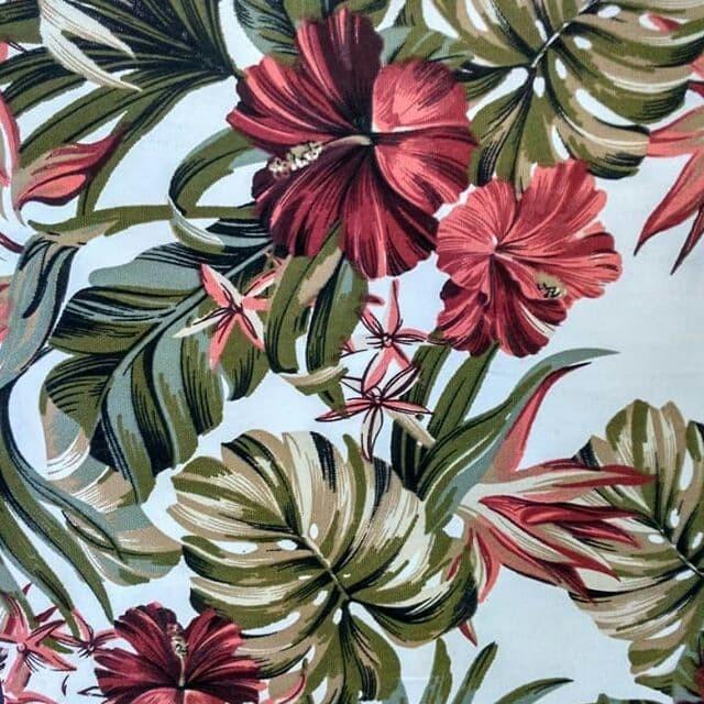 Jual Kanvas Lokal Motif Kembang Sepatu Jakarta Timur Batavia Handmade Tokopedia