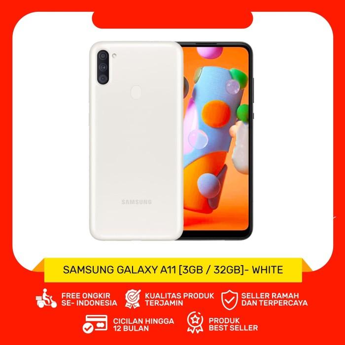 Foto Produk SAMSUNG Galaxy A11 Smarphone [32GB / 3GB] - Putih dari Gadget Mart BJM