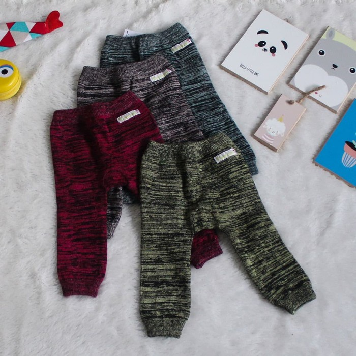 Foto Produk Legging Bayi Atlas Dark - 3-6 Bulan, Cokelat dari Tomomi Baby Wear