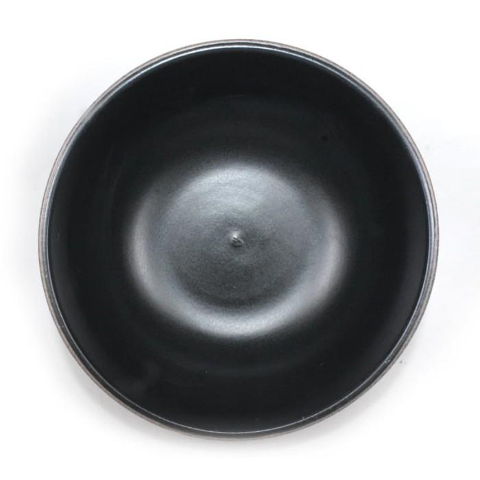 Foto Produk Artisan Ceramic | Black/Terra Large Bowl | Mangkok Keramik dari Artisan Ceramic