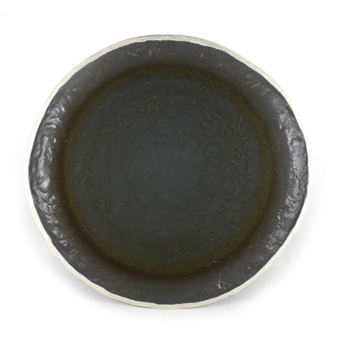 Foto Produk Artisan Ceramic | Double Glz Grey Serving Platter | Piring Keramik dari Artisan Ceramic