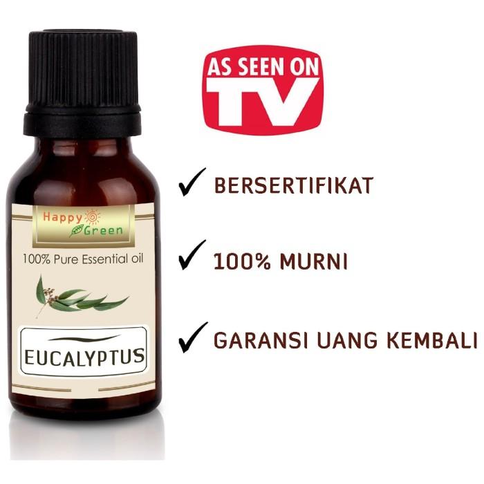 Foto Produk Happy Green Eucalyptus Essential Oil (Minyak Eukaliptus ) 30ml Murni dari Happy Green Garden - JKT