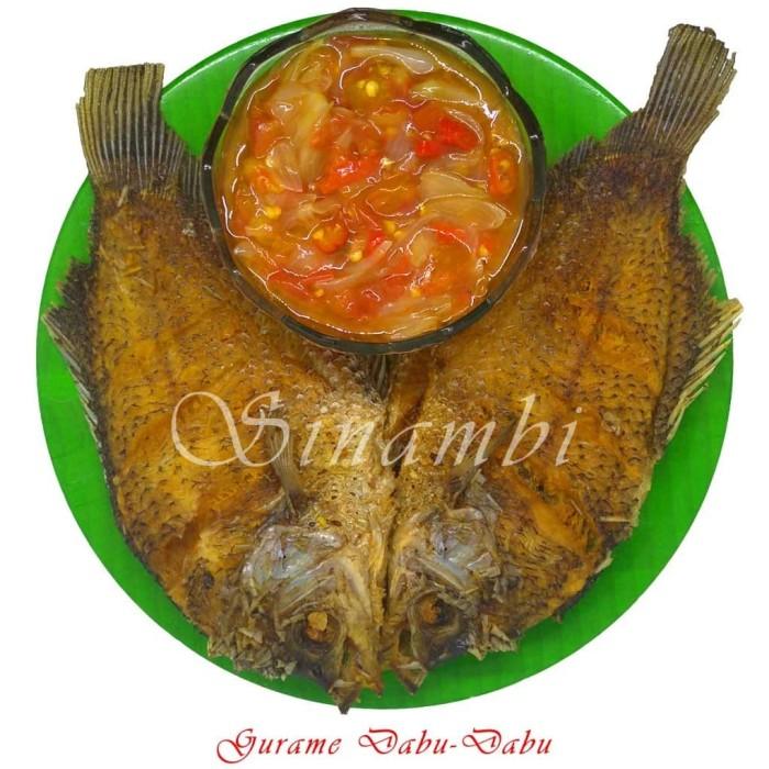 Foto Produk Gurame Dabu Dabu Sinambi 2 ekor dari Sinambi Kuliner