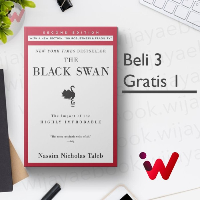 Foto Produk The Black Swan (2nd Edition): The Impact of the Highly Improbable.. dari Wijaya Ebook