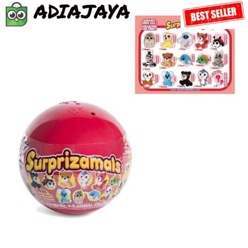 Big Penguin Stuffed Animal, Jual Surprizamals Surprise Ball Stuffed Animals Series 4 Not Lol Mainan Jakarta Barat Adiajaya Tokopedia