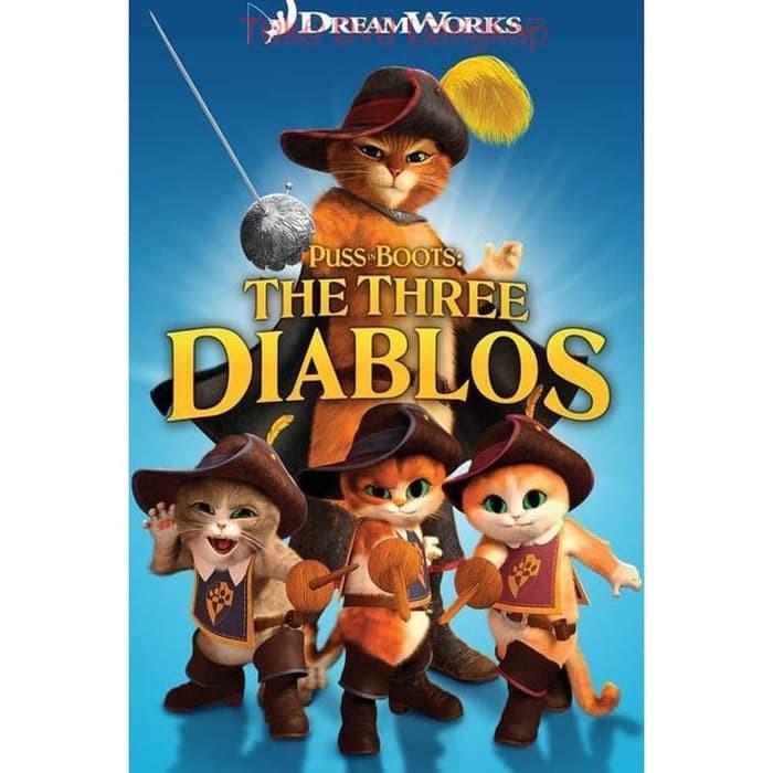 Jual Film Dvd Puss In Boots The Three Diablos 2011 Kab Sukabumi Chestarastore Tokopedia