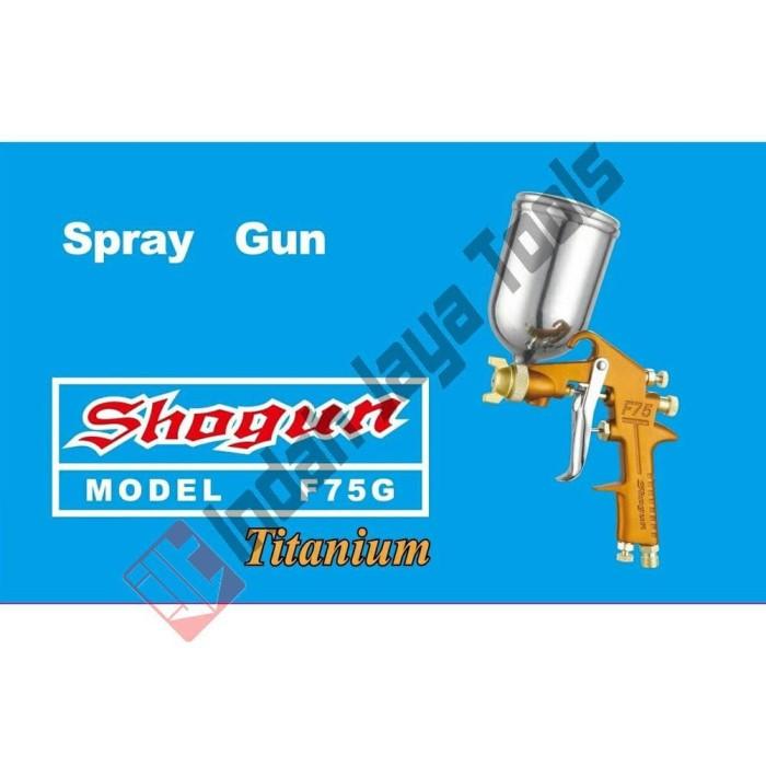 Jual TERMURAH SHOGUN SPRAY GUN F75