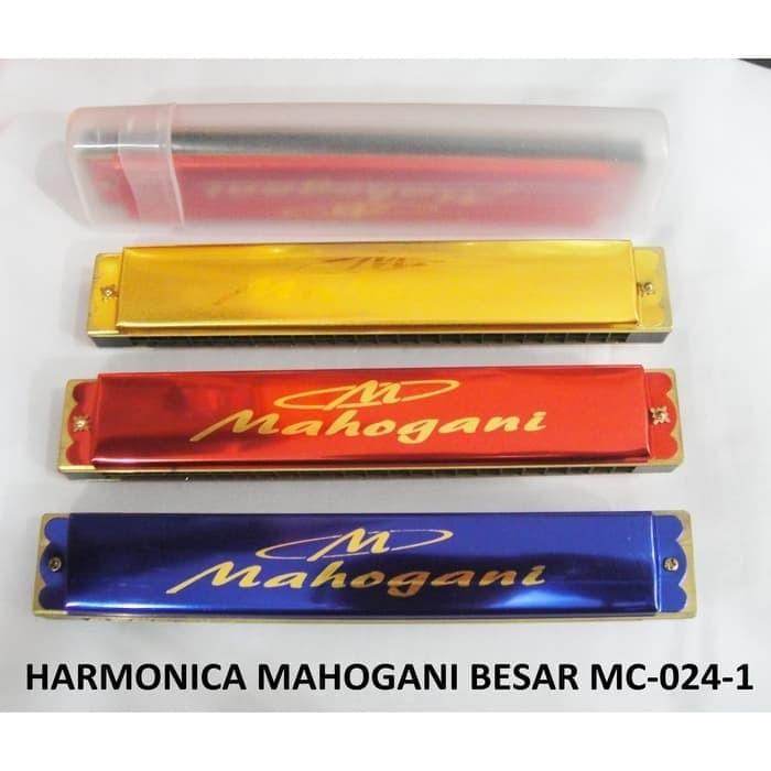 Foto Produk HARMONICA / HARMONIKA MAHOGANI MC-024-1 dari MPL SPORTS MUSIC