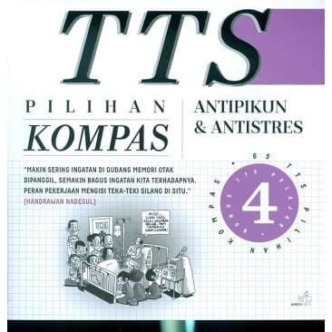 Foto Produk Buku TTS Pilihan Kompas Jilid 4 Edisi Baru (Teka Teki Silang) (IQ) dari toko buku bisnis irfan