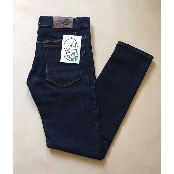 Foto Produk Celana Panjang Jean Pria Pensil Strecth Slim fit Skinny Cheap Monday - Garment dari Gudang Fashion Indonesia