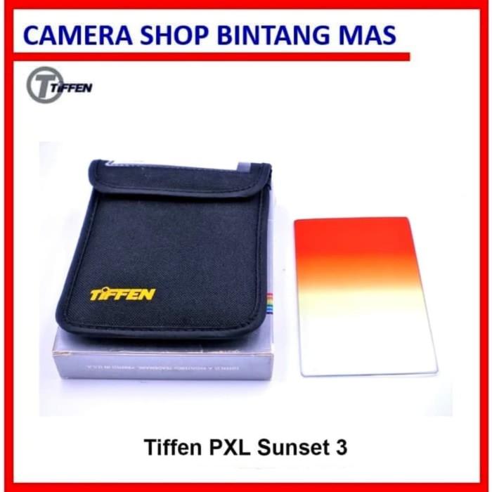 Foto Produk Tiffen PXL Series Color Gradual Sunset 3 for Cokin P Series Holder dari Camera Shop Bintang Mas