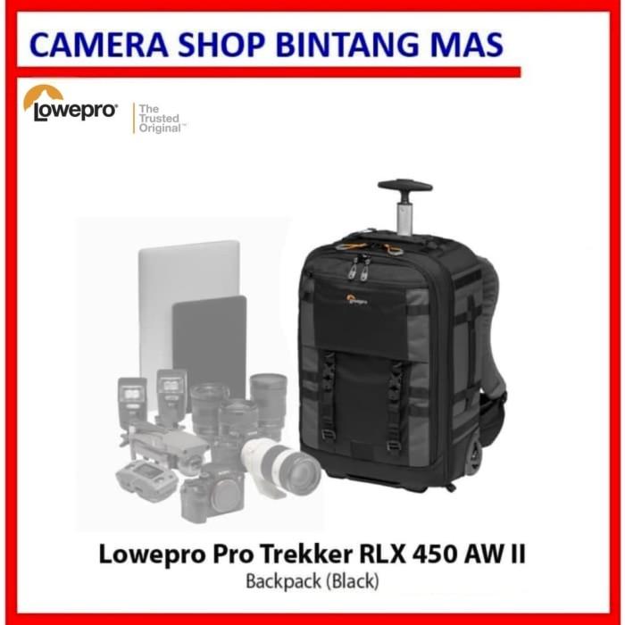 Foto Produk Lowepro Pro Trekker RLX 450 AW II Backpack (Black) dari Camera Shop Bintang Mas