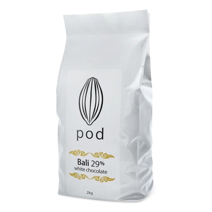 Foto Produk PODCHOCOLATE Creamy White – 2kg Drops Bali Chocolate dari PODCHOCOLATE BALI