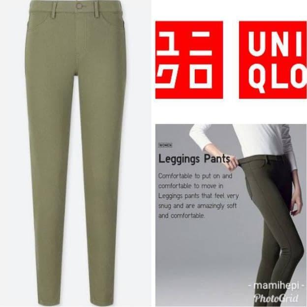 Jual Terlaris Uniqlo Women Celana Leggings Pants Jakarta Barat Anang Fashion Tokopedia