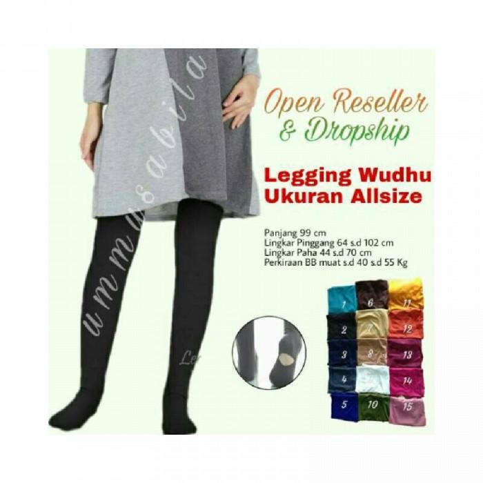 Jual Celana Legging Wudhu Wanita Muslimah Celamis Celana Dalaman Gamis Inne Kota Bandung Grosir Muslim Bandung Tokopedia