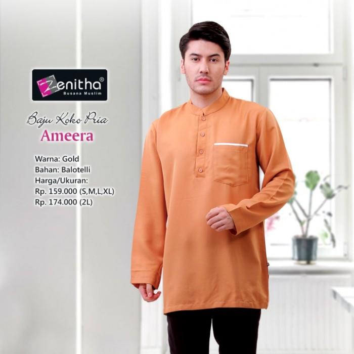 Foto Produk Ameera Pria : GOLD, XL dari e-malls