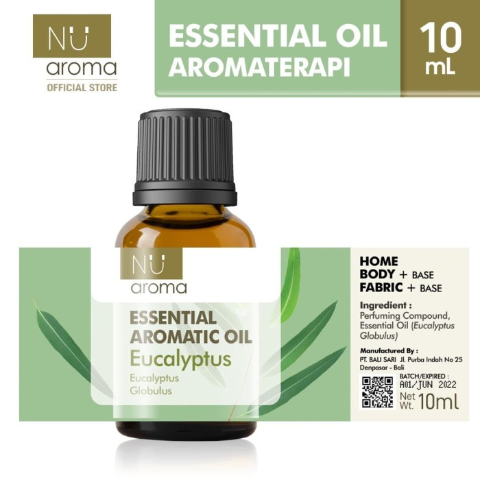 Foto Produk Nu Aroma Essential Aromatic Oil Eucalyptus / Kayu Putih dari Nu Aroma