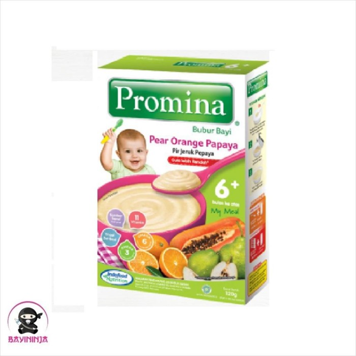 Foto Produk PROMINA Bubur Bayi Pir Jeruk Pepaya 6 to 24 Bulan 120 g dari BAYININJA