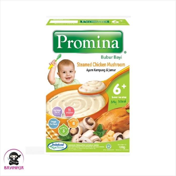 Foto Produk PROMINA Bubur Bayi Ayam Kampung Jamur 6 to 24 Bulan 120 g dari BAYININJA