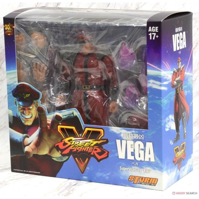Jual Storm Figure 1 12 Street Fighter V Action Figure Bison Vega