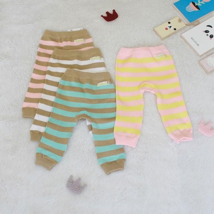 Foto Produk Legging Bayi Pastel Series - 3-6 Bulan, Merah Muda dari Tomomi Baby Wear