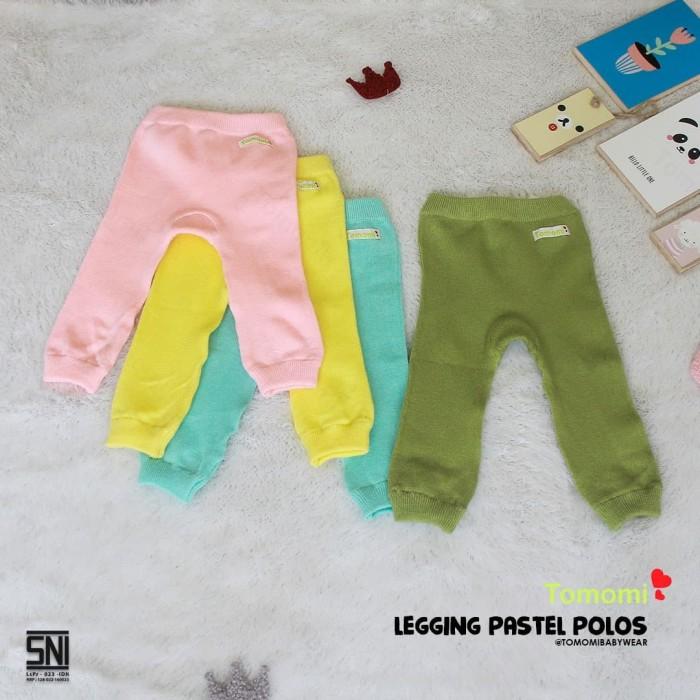 Foto Produk Tomomi Legging Polos Pastel - 3-6 Bulan dari Tomomi Baby Wear