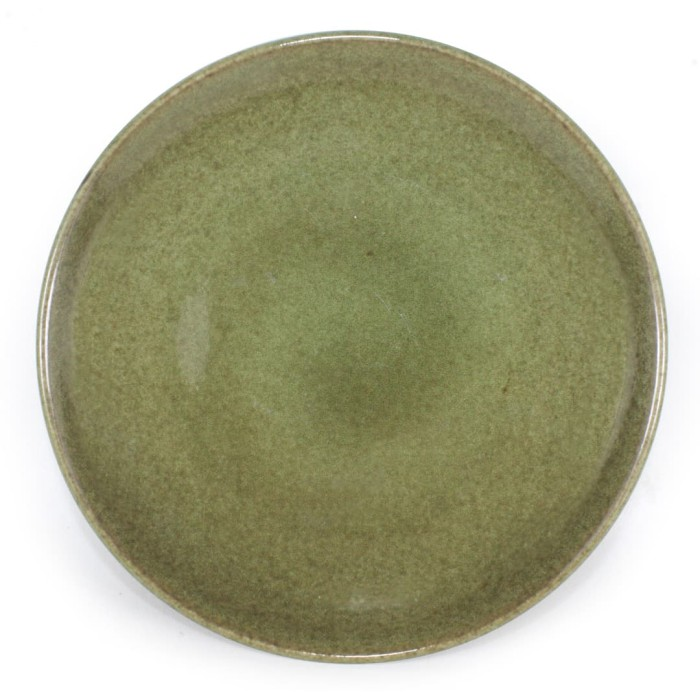 Foto Produk Artisan Ceramic  Chongja Green BB Plate  Piring Kecil Keramik dari Artisan Ceramic