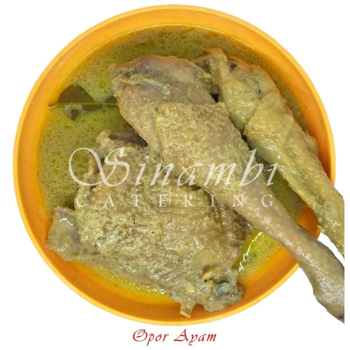 Foto Produk Opor Ayam Sinambi 10 Ptg dari Sinambi Kuliner