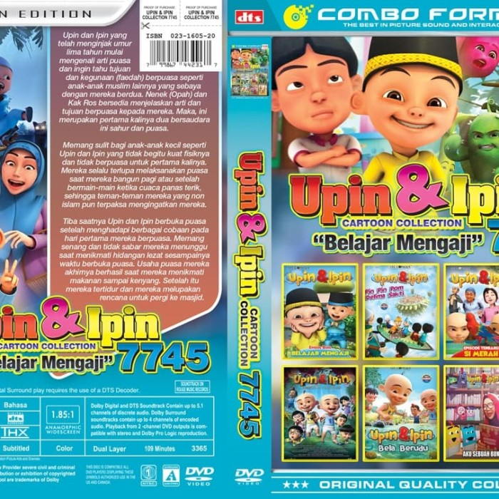 Jual Kaset Film Colection Upin Belajar Mengaji Jakarta Barat Daviniashop Tokopedia